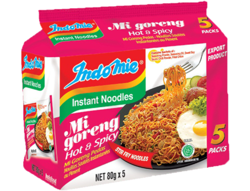 Mi Goreng Hot and Spicy 5-Pack